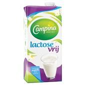 Campina lactose vrije melk achterkant