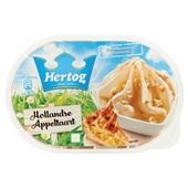 Hertog Hertog ijs Hollandse appeltaart voorkant