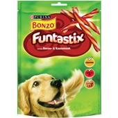 Bonzo hondensnack funtastix met bacon en kaassmaak voorkant