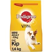 Pedigree vital protection hondenvoer mini brokken met kip en groenten voorkant