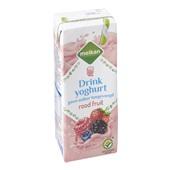 Melkan Topvit rode vruchten drank achterkant
