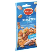 Nutisal dry roasted enjoy mix achterkant