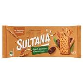 Sultana spelt quinoa dadel voorkant