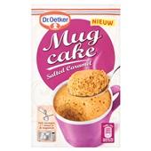 Dr. Oetker mug cake salted caramel voorkant