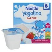 Nestlé Yogolino Aardbei achterkant