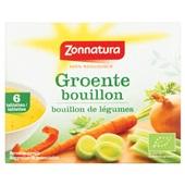 Zonnatura groentebouillontabletten voorkant