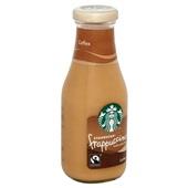 Starbucks frappuccino coffee achterkant