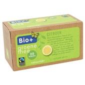 Bio+ groene thee citroen achterkant