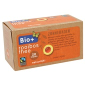 Bio+ rooibos thee achterkant