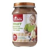 Bonbébé Baby/Peuter fruithapje Framboos Bosbes Appel met koek voorkant