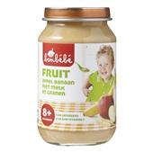 Bonbébé Baby/Peuter fruithapje Appel Banaan met melk en granen voorkant