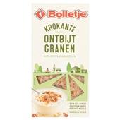 Bolletje ontbijtgranen hazelnoten en amandelen voorkant