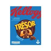 Kellogg's trésor melkchocolade ontbijtgranen voorkant