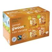 Gwoon thee 1-kops oranje fruit variatie achterkant