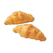 Croustif roomboter croissant  ham-kaas achterkant