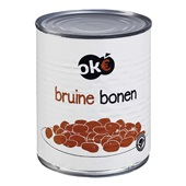 Oke Bruine Bonen achterkant