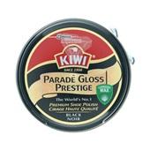 Kiwi Schoencrème zwart in blik voorkant