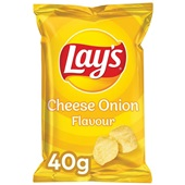 Lay's Chips Cheese Onion voorkant