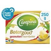 Campina botergoud roomboter gezouten voorkant