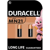 Duracell plus power batterij alkaline MN21 voorkant