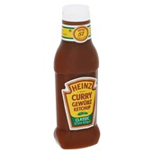 Heinz Ketchup Spiced Curry achterkant