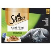 Sheba mini filets kattenvoer selectie van de chef voorkant
