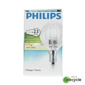 Philips Halogen Classic halogeenlamp kogel E14/18W (23W) voorkant