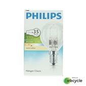 Philips Halogen Classic halogeenlamp kogel E14/28W (35W) voorkant