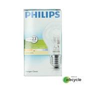 Philips halogeenlamp ecoclassic E27/18W voorkant