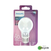 Philips LED lamp E27/6,7W (60W) voorkant
