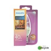Philips LED kaarslamp  E14/6W (40W) voorkant