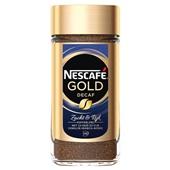 Nescafé Gold oploskoffie cafeïne vrij voorkant