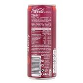Coca Cola Cherry achterkant