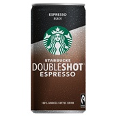 Starbucks doubleshot espresso black voorkant