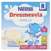 Nestlé dreumesvla vanille voorkant
