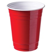Depa partycups rood voorkant