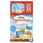 Nestlé pyjamapapje vanille voorkant