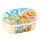 Hertog Hertog ijs Hollandse appeltaart achterkant
