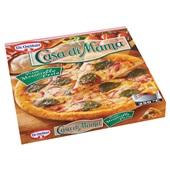Dr. Oetker Casa Di Mama Pizza Mozzarella pesto achterkant