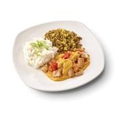 Culivers (71) vegetarische madras met groene linzen en kokosrijst voorkant