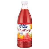 Hero fruitsap sinaasappel aardbei appel voorkant
