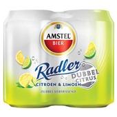 Amstel radler dubbel verfrissend voorkant