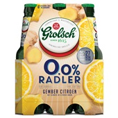 Grolsch radler gember-citroen voorkant