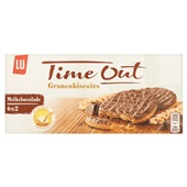 Lu Time out chocolade voorkant