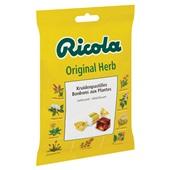 Ricola Suikerwerk Original achterkant