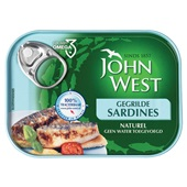 John West Sardines Gegrild voorkant