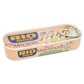 Rio Mare gegrilde makreel in olijfolie voorkant