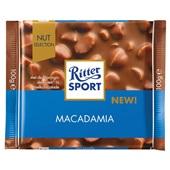 Ritter Sport macadamia voorkant