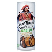 Captain Morgan mojito voorkant