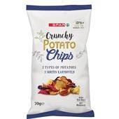 Spar chips aardappel 3-mix voorkant